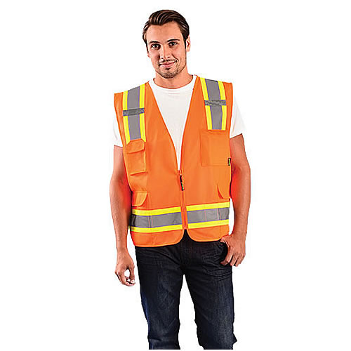 Occunomix Class 2 High Visibility Solid Vests