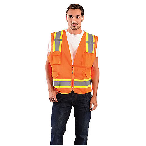 Occunomix Class 2 High Visibility Mesh Vests