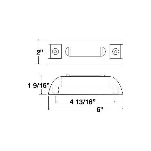 peterson m353a piranha led clearance side marker light. Black Bedroom Furniture Sets. Home Design Ideas