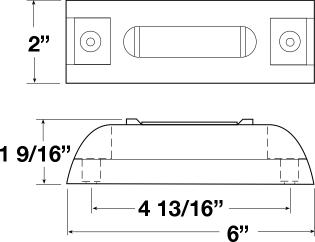 peterson wiring diagram peterson m353a piranha led clearance & side marker light ... 2005 chevy 2500 roof light wiring diagram #11