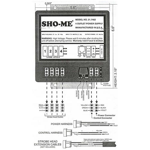 Whelen Power Supply Wiring Diagram : Whelen strobe wiring diagram on power supply