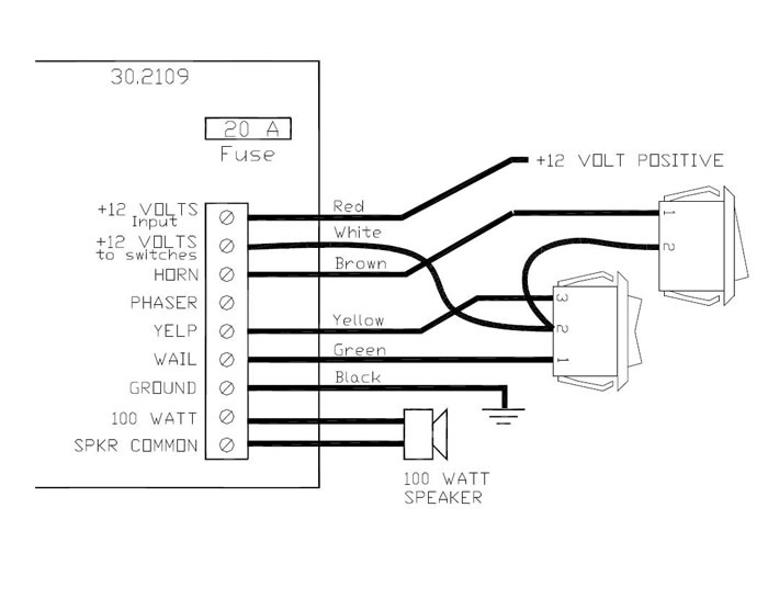 Whelen Mini Edge Wiring Diagram on code 3 siren wiring diagram