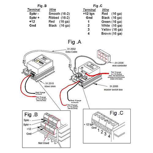 31 2515 4040_diagram me 31 series siren switch box with mini controller 31 2515 4040 sho-me siren wiring diagram at gsmx.co
