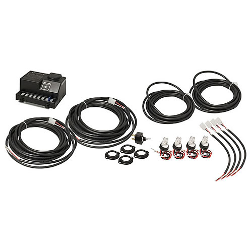 truck lite hide-a-way system  4 lamp kit