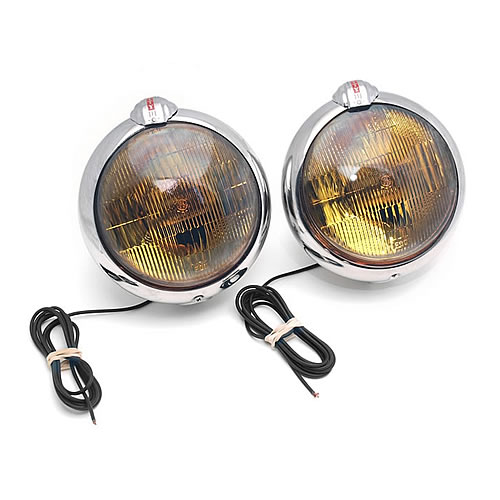Unity USA VINTAGE Unity USA®-6 in. Round Roadlights