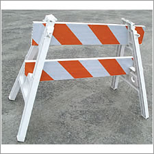 USA Sign A-Frame Barricades