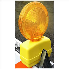 USA Sign Barricade Flasher Lights