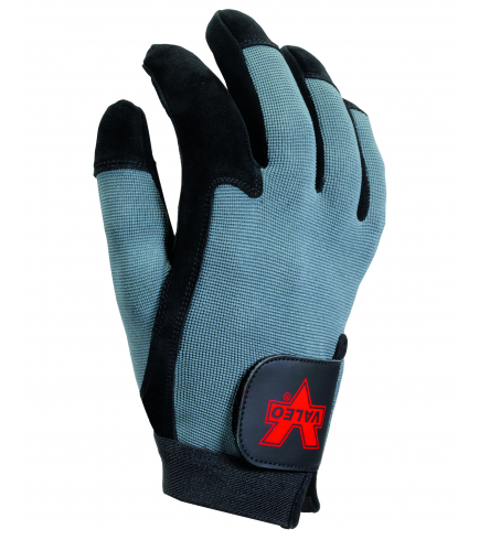 Valeo Split Leather Full-Finger A/V Glove