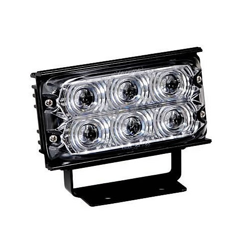 Maxxima 6 Led Rectangular Work Light 375 Lumens Black Mwl 21