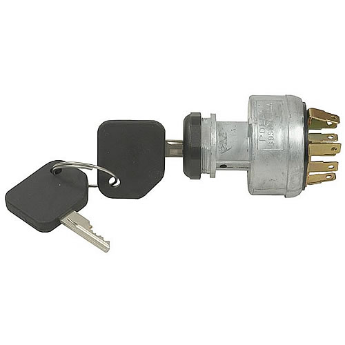 Pollak 31-114 Ignition Starter Switches 4 position